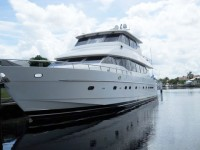 The Tarpon Cove canal system has good water depth for large yachts.