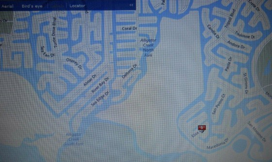 Map - Mouth of Alligator Creek to Elisa Dr.