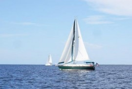 Sailing in Charlotte Harbor